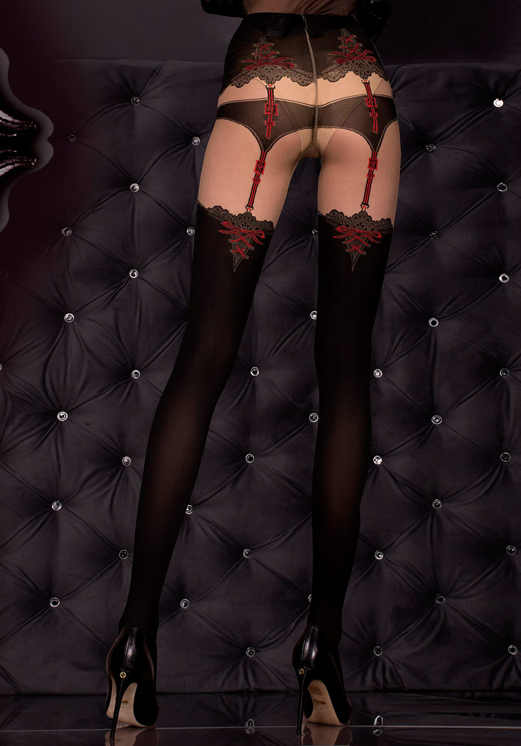 8a0fc5d9f6eb0 Black stockings hosiery Erotic Alchemy suspender belts effect sexy  burlesque. Click to enlarge