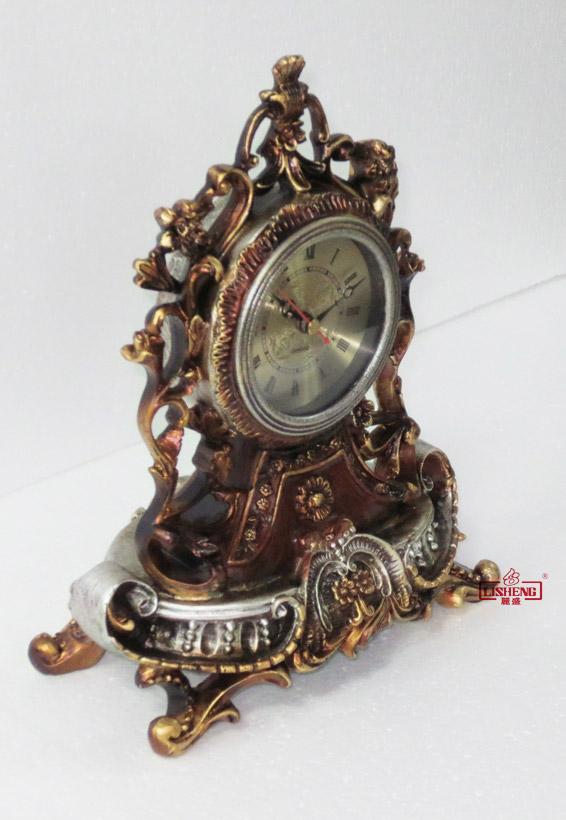 horloge de bureau chambre style vintage retro baroque. Black Bedroom Furniture Sets. Home Design Ideas