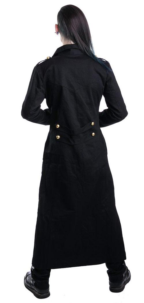 manteau long noir homme gothique vixxsin japan attitude inno0037. Black Bedroom Furniture Sets. Home Design Ideas