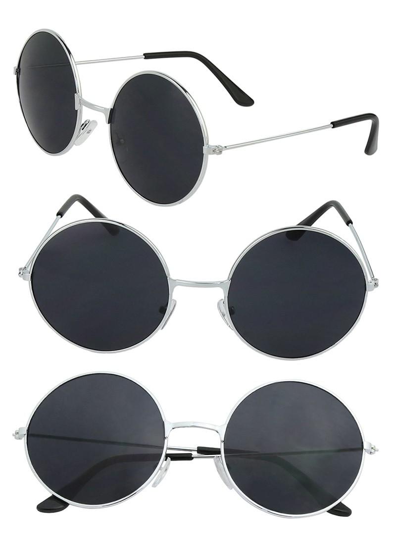 6b80bcad3b8f25 lunettes noires cadre noir vintage gothique steampunk with lunettes de soleil  rondes