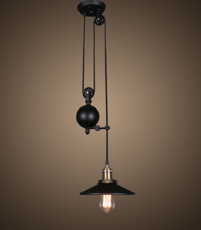 lampe suspension noire style industriel edison retro loft steampunk japan attitude guib0011. Black Bedroom Furniture Sets. Home Design Ideas