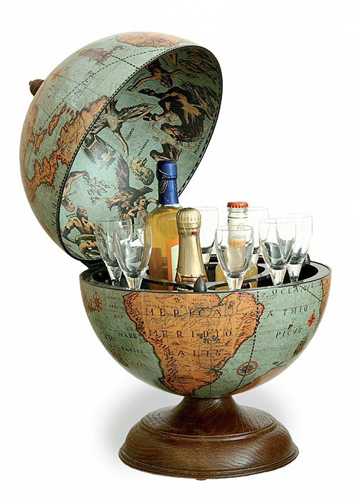 mappemonde globe terrestre bar de table laguna vintage. Black Bedroom Furniture Sets. Home Design Ideas