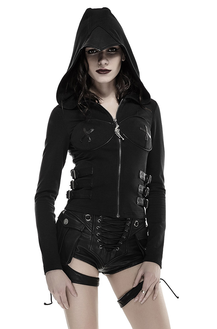 Killstar gothique goth occultisme Punk Pull Femmes-Siren Mermaid Pentagramme