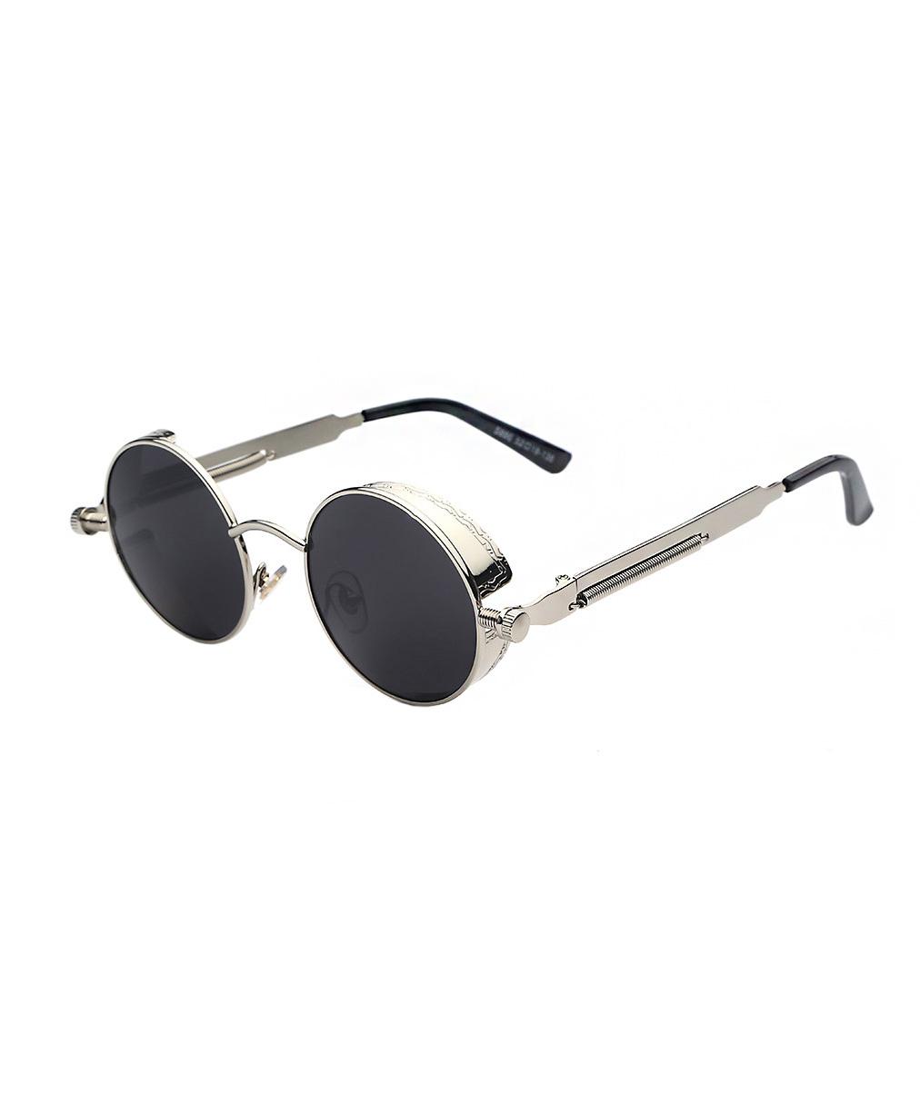 a971d87b68e01 Glasses round silver glasses black