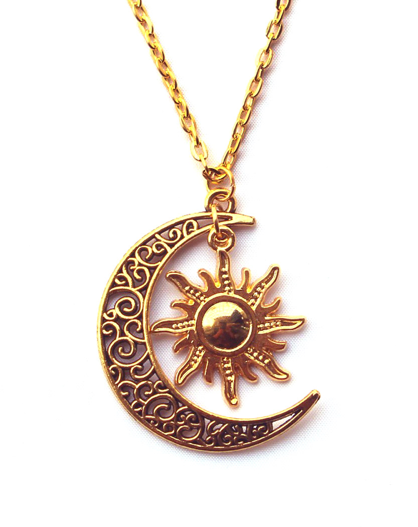 kelly golden gold moon pendant limberg dipper silver big sun products necklace