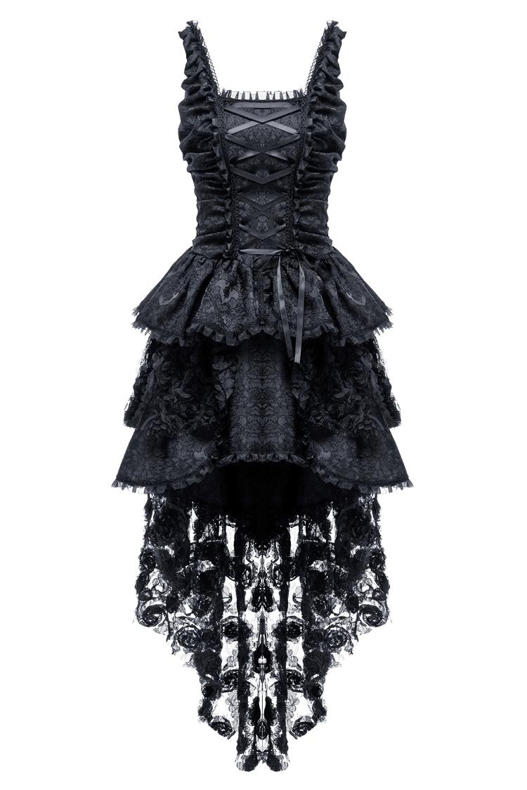 Robe bustier noire laçage 605307c3cca
