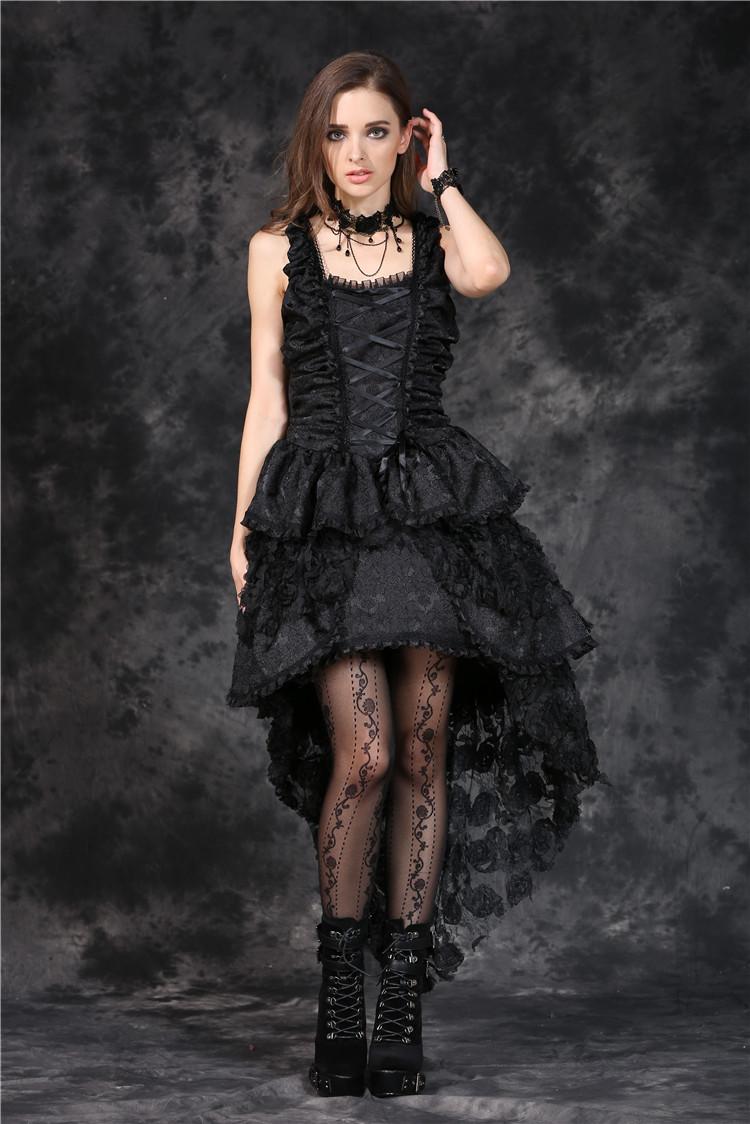 7a86756ed7c Robe bustier noire laçage