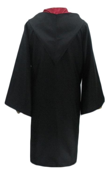Costume noir sorcier cape et cravate,