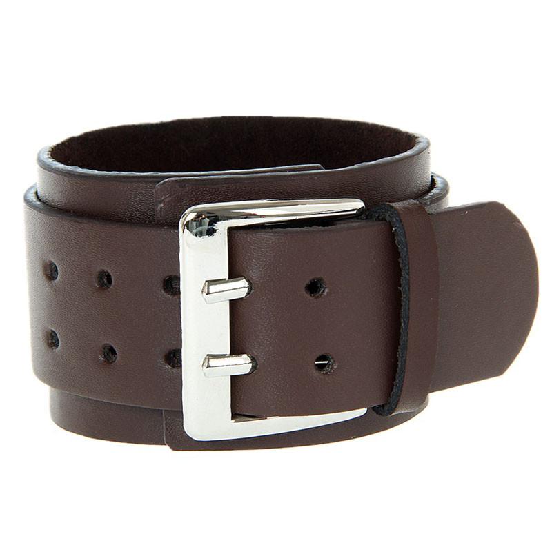 bracelet cuir gothique