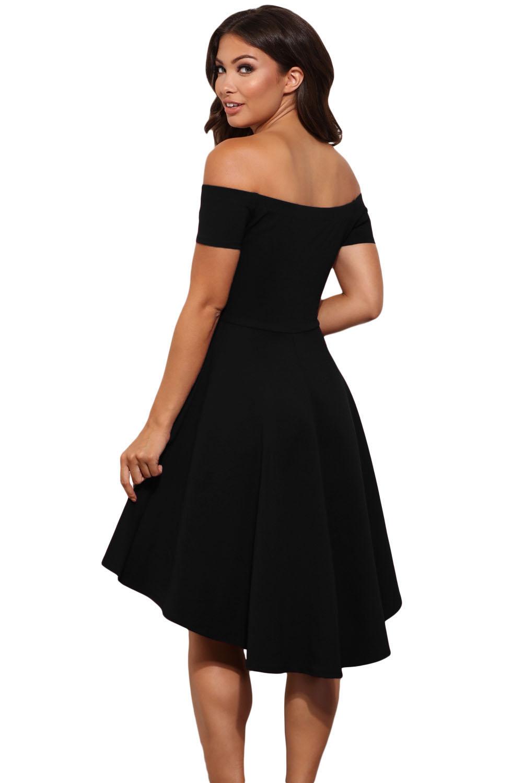 Petite robe noire casual