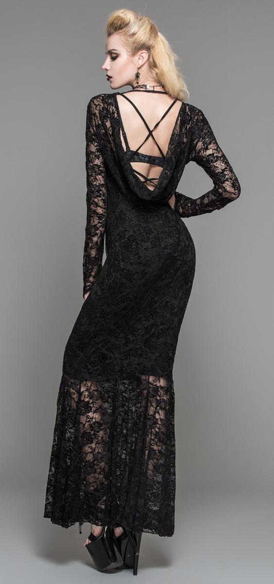 b2b0ff935ad1f Robe noire longue dentelle   Sport sante gironde
