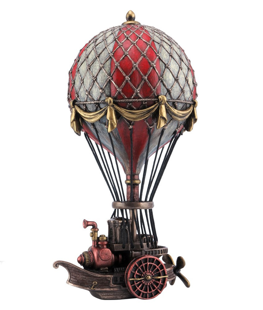 ballon dirigeable steampunk