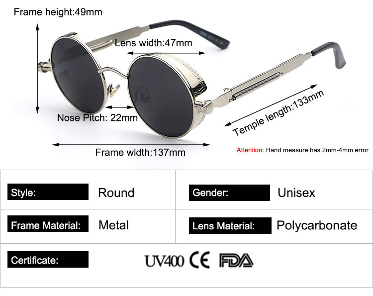 652ac32a29980 Round silver glasses with transparent lenses