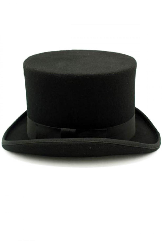 exquisite design great deals 2017 authentic Chapeau haut de forme noir 14cm élégant gothique et steampunk Référence :  PHAZE0073