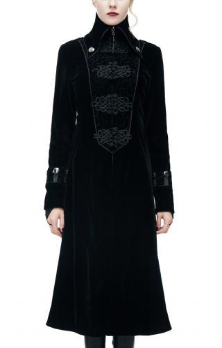 Sweat pull capuche gothique punk dark fashion laçage sangle galon Punkrave homme