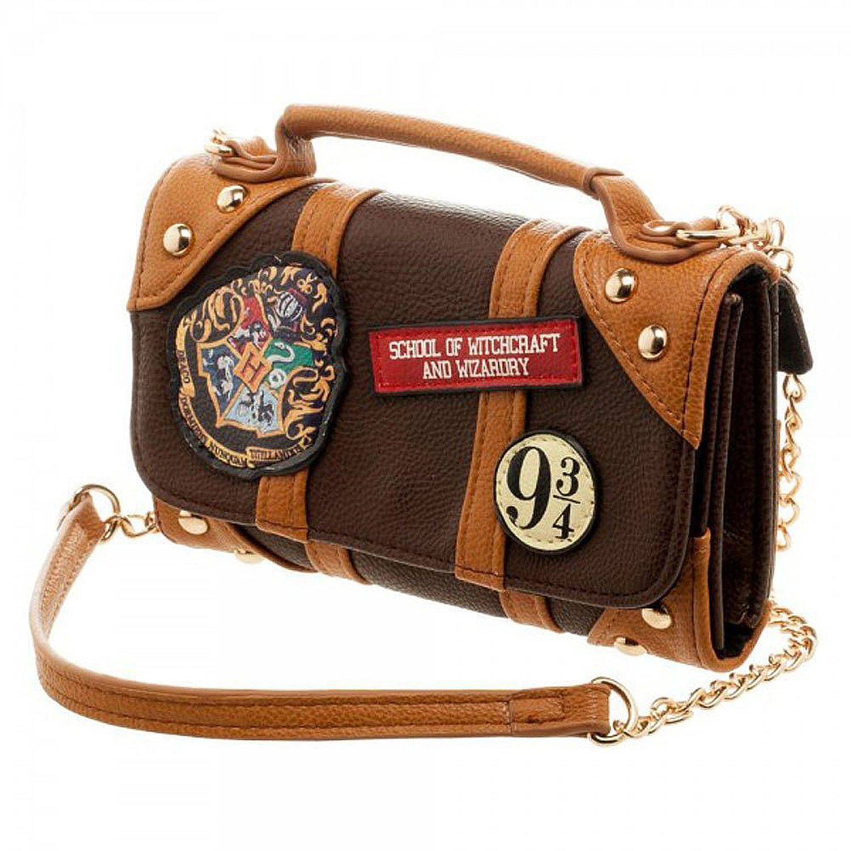 Mini sac portefeuille avec bandoulière poudlard