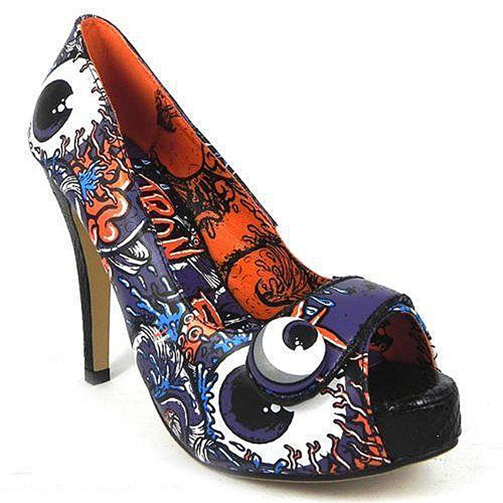 shoes escarpin purple oh no platform iron fist Iron Fist