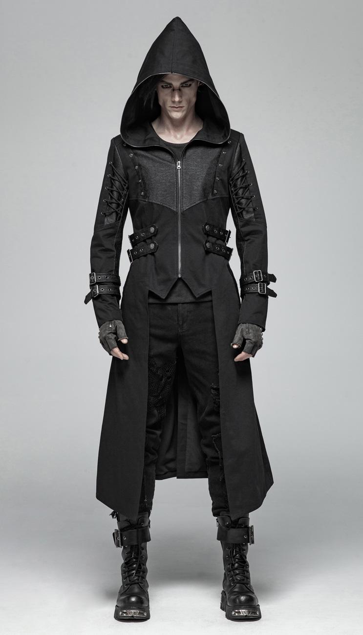 veste longue gothique homme