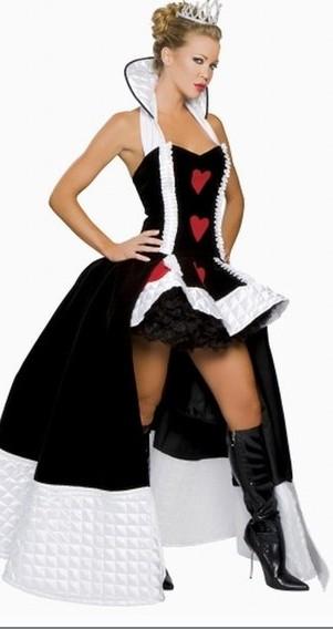 costume princesse disney noir et blanc coeur japan. Black Bedroom Furniture Sets. Home Design Ideas