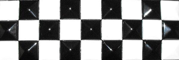 prix compétitif b3956 7601a Ceinture à damier noir et blanc Référence : ACCCEIN004