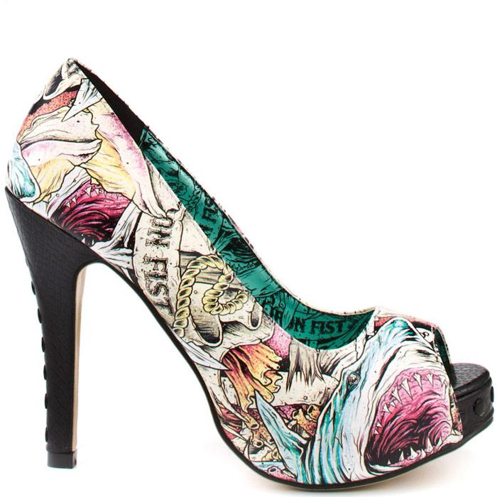 Chaussures Iron Fist roses Kawaii femme gpEGEv1kT