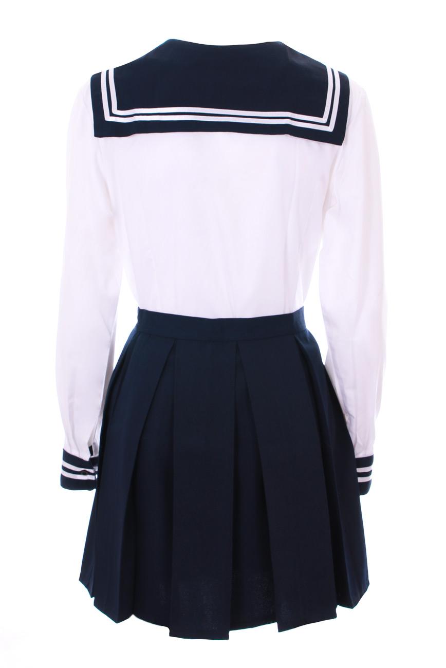 Tenue-ecoliere-japonaise-bleue-et-blanche-a-noeud-cosplay