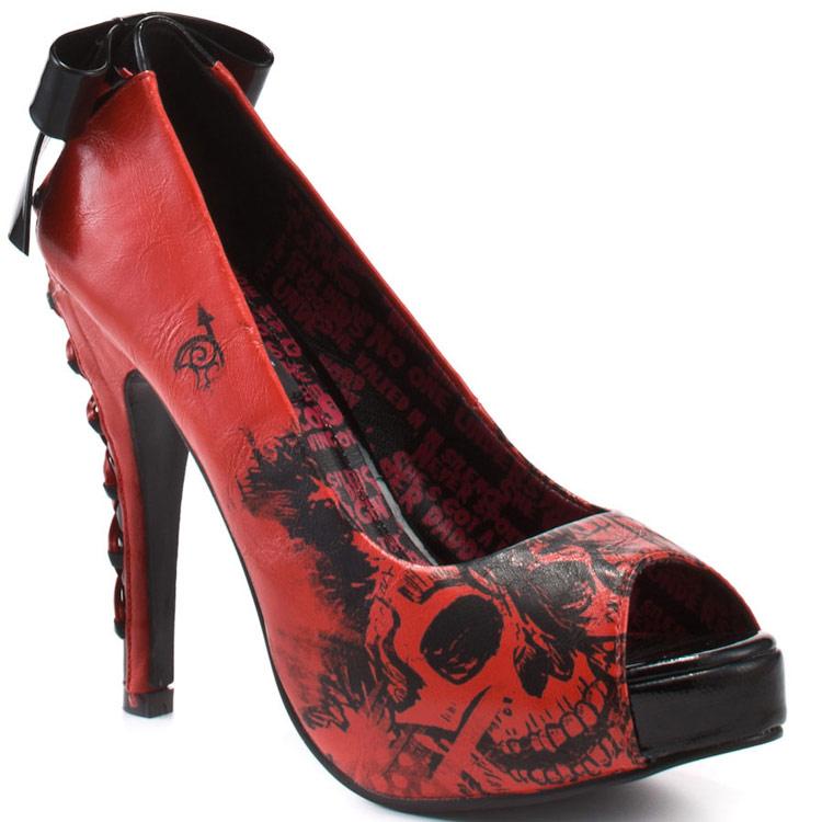 Chaussures escarpin American Nightmare Platform rouge   JAPAN ... f78bc998ec70