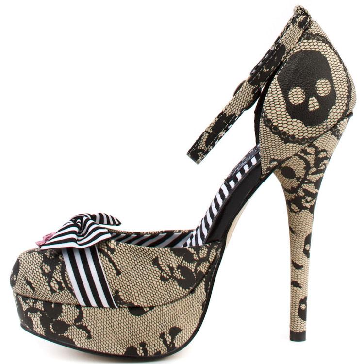 profiter de gros rabais ramasser grand choix de Chaussures escarpin Lacey Days Platform ivoire Iron Fist SKU : CHAPUN019
