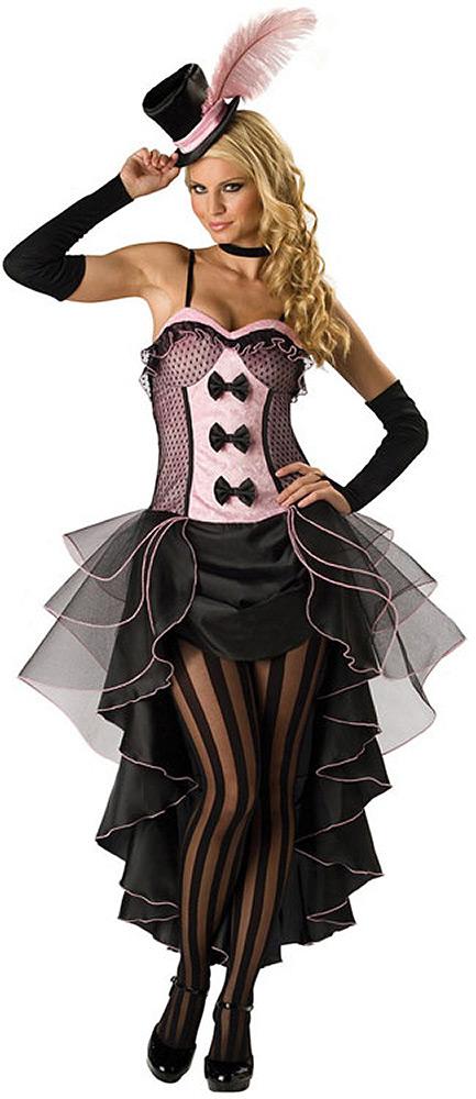 1ba113aaa75 Tenue burlesque rose et noir avec chapeau   JAPAN ATTITUDE - VETCOS091