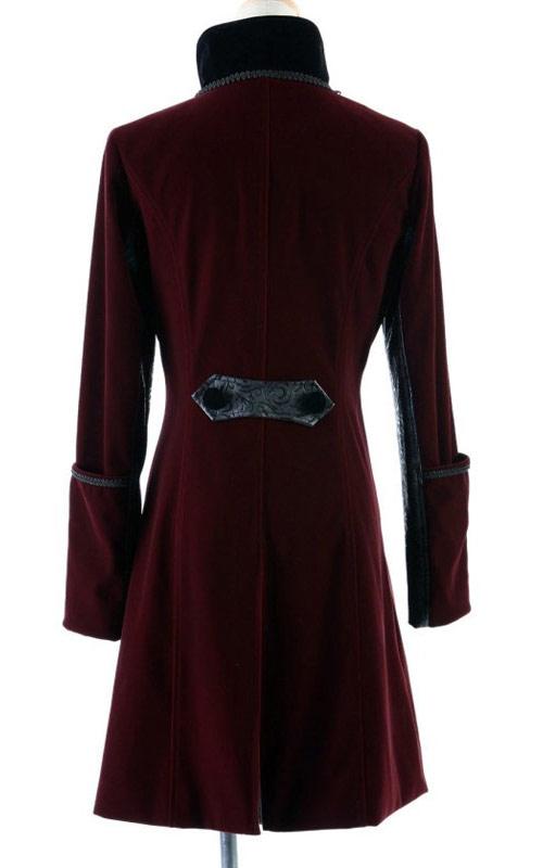 con Y giacca rossa Rave Elegante 37 Punk e aristocratica nera gqXnw8Sw