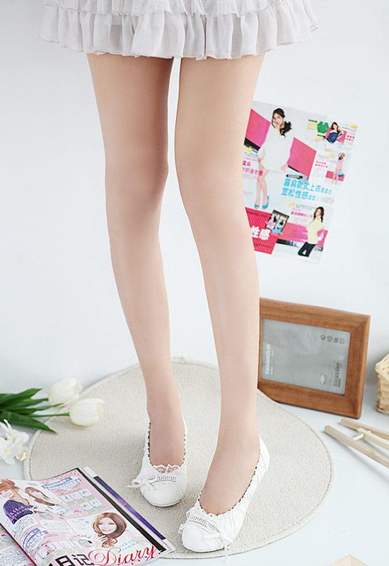 chaussures ballerine blanche avec dentelle et pierre kawaii japan attitude chauss014. Black Bedroom Furniture Sets. Home Design Ideas
