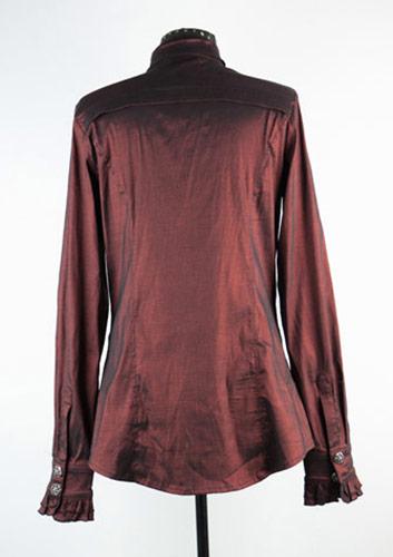 chemise jabot bordeaux l gent aristocrate japan attitude vetche096. Black Bedroom Furniture Sets. Home Design Ideas