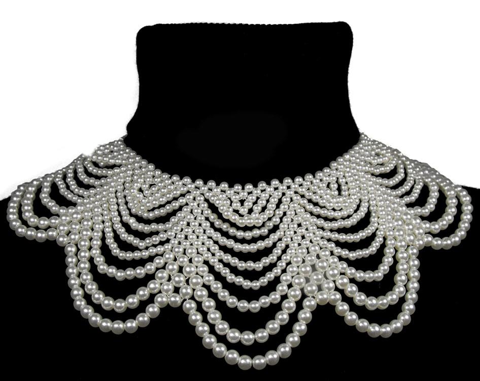 ras de cou grand collier de perles noires mod u00e8le 1  u0026gt  japan