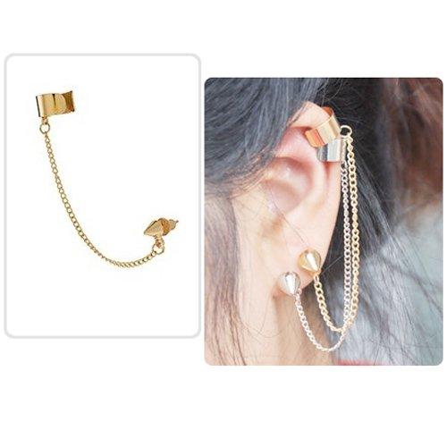 boucle d'oreilles chaine