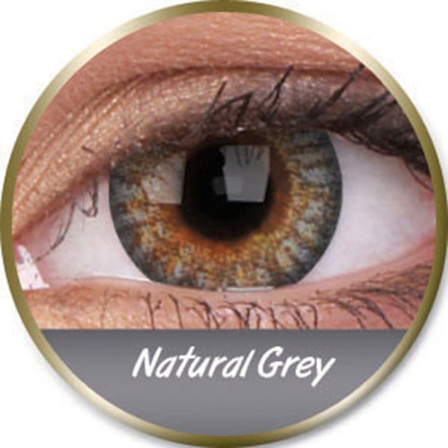 Lentilles natural grey grises phantasee (3 mois) Phantasee