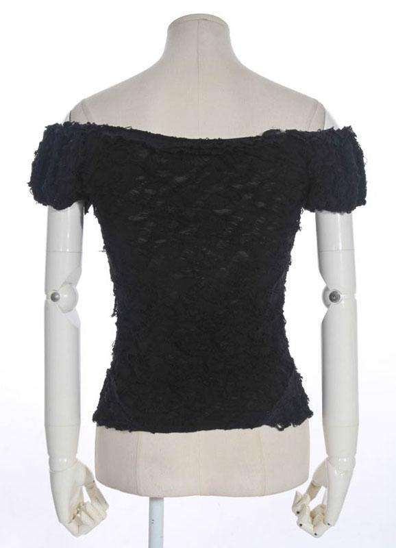 bustier chemise noire gothique steampunk sp cial serre taille rqbl rq bl ebay. Black Bedroom Furniture Sets. Home Design Ideas