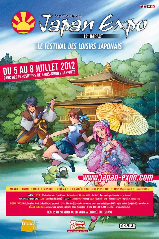 Comic Con / Japan Expo 2012 AfficheJE13
